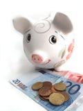 τράπεζα 5 piggy Στοκ φωτογραφία με δικαίωμα ελεύθερης χρήσης