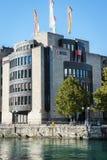 Τράπεζα BCGE Στοκ εικόνες με δικαίωμα ελεύθερης χρήσης