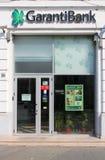 Τράπεζα Garanti Στοκ φωτογραφία με δικαίωμα ελεύθερης χρήσης