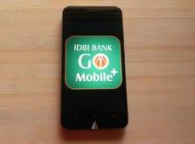 Τράπεζα IDBI στοκ εικόνες
