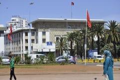 Τράπεζα Magreb στη Καζαμπλάνκα, 20.2012 Απριλίου στοκ εικόνα