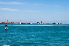 Τράπεζα Murano Βενετία άμμου Στοκ εικόνα με δικαίωμα ελεύθερης χρήσης