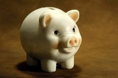 τράπεζα piggy στοκ φωτογραφίες με δικαίωμα ελεύθερης χρήσης