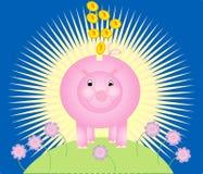 τράπεζα piggy απεικόνιση αποθεμάτων
