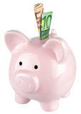 Τράπεζα Piggy Στοκ φωτογραφία με δικαίωμα ελεύθερης χρήσης