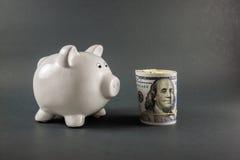 Τράπεζα 013 Piggy Στοκ φωτογραφία με δικαίωμα ελεύθερης χρήσης