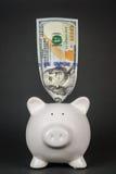 Τράπεζα 016 Piggy Στοκ Φωτογραφία