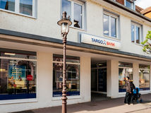 Τράπεζα Targo στον οικονομικό κλάδο οργάνων της Γερμανίας Στοκ φωτογραφίες με δικαίωμα ελεύθερης χρήσης