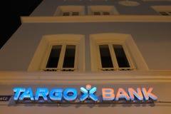 Τράπεζα Targo Στοκ φωτογραφίες με δικαίωμα ελεύθερης χρήσης