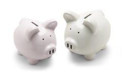 τράπεζες piggy στοκ εικόνες