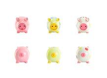 τράπεζες piggy Στοκ εικόνα με δικαίωμα ελεύθερης χρήσης