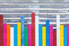 τρέκλισμα τέχνης χρώματος στην ταπετσαρία Στοκ φωτογραφία με δικαίωμα ελεύθερης χρήσης