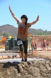 Τρέξιμο λάσπης Στοκ Φωτογραφίες