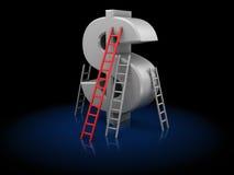 τρέξιμο έννοιας ανταγωνισμού επιχειρησιακών επιχειρηματιών χαρτοφυλάκων Στοκ εικόνα με δικαίωμα ελεύθερης χρήσης