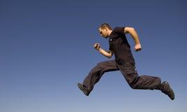 τρέξιμο αέρα Στοκ φωτογραφία με δικαίωμα ελεύθερης χρήσης