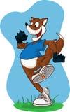 τρέξιμο αλεπούδων Στοκ εικόνα με δικαίωμα ελεύθερης χρήσης