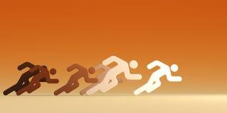τρέξιμο ανθρώπων ηγετών