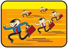 τρέξιμο ανταγωνισμού απεικόνιση αποθεμάτων