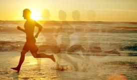 Τρέξιμο ατόμων Στοκ φωτογραφίες με δικαίωμα ελεύθερης χρήσης