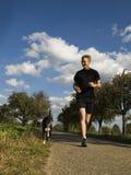 τρέξιμο ατόμων Στοκ Εικόνες