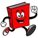 Τρέξιμο βιβλίων διανυσματική απεικόνιση