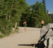 Τρέξιμο βουνών Στοκ εικόνες με δικαίωμα ελεύθερης χρήσης