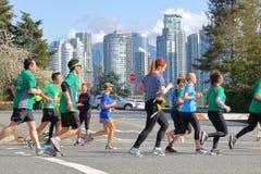 Τρέξιμο 2018 διασκέδασης πόλεων του Βανκούβερ στοκ φωτογραφία