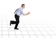 τρέξιμο επιχειρηματιών Στοκ Εικόνα