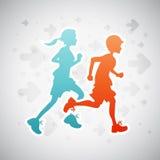 τρέξιμο κατσικιών Στοκ φωτογραφία με δικαίωμα ελεύθερης χρήσης