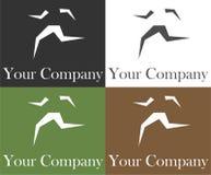 τρέξιμο λογότυπων Στοκ Εικόνα
