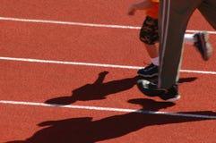 τρέξιμο μπαμπάδων Στοκ Φωτογραφίες