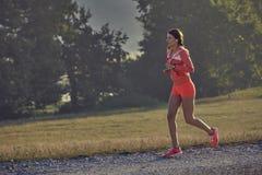 Τρέξιμο ξημερωμάτων Στοκ Εικόνες