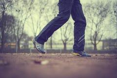 Τρέξιμο ξημερωμάτων Στοκ Φωτογραφίες