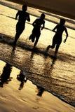 τρέξιμο παιδιών Στοκ εικόνα με δικαίωμα ελεύθερης χρήσης