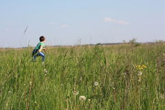 τρέξιμο παιδιών Στοκ φωτογραφίες με δικαίωμα ελεύθερης χρήσης