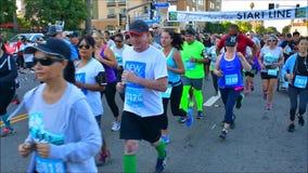 Τρέξιμο πανδοχείων αποστολής απόθεμα βίντεο