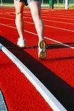 τρέξιμο πιστών αγώνων Στοκ φωτογραφία με δικαίωμα ελεύθερης χρήσης
