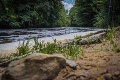 Τρέξιμο ποταμών στοκ εικόνα