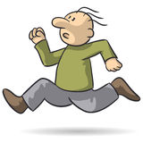 Τρέξιμο προσώπων Στοκ εικόνες με δικαίωμα ελεύθερης χρήσης