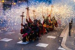 Τρέξιμο πυρκαγιάς Στοκ φωτογραφίες με δικαίωμα ελεύθερης χρήσης
