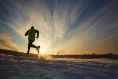 Τρέξιμο στην επαρχία στοκ φωτογραφία με δικαίωμα ελεύθερης χρήσης