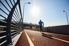 Τρέξιμο στην ηλιοφάνεια Στοκ φωτογραφία με δικαίωμα ελεύθερης χρήσης