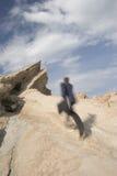 τρέξιμο στην κορυφή Στοκ φωτογραφίες με δικαίωμα ελεύθερης χρήσης