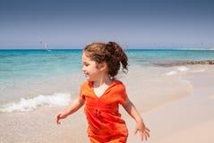 Τρέξιμο στην παραλία στοκ φωτογραφίες