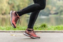 Τρέξιμο στο πάρκο Στοκ εικόνα με δικαίωμα ελεύθερης χρήσης