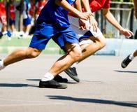 τρέξιμο σφαιρών Στοκ Εικόνα