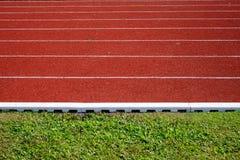 Τρέξιμο της διαδρομής Στοκ Εικόνες