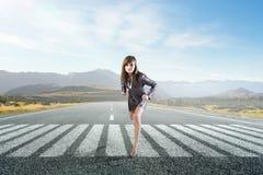 Τρέξιμο του τρόπου της Μικτά μέσα στοκ φωτογραφία με δικαίωμα ελεύθερης χρήσης