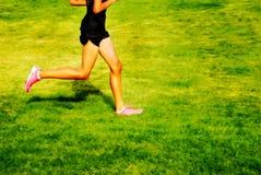 τρέξιμο φυλών στοκ εικόνες με δικαίωμα ελεύθερης χρήσης