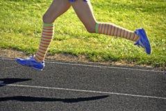 τρέξιμο φυλών Στοκ Φωτογραφία